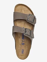 Birkenstock - Arizona Soft Footbed - sandaalit - tumbuling buck soft whale gray - 3
