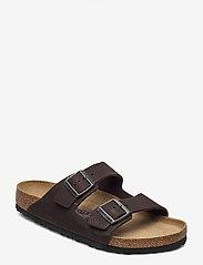 Birkenstock - Arizona Soft Footbed - sandaalit - arizona tumbuling buck soft brown - 0