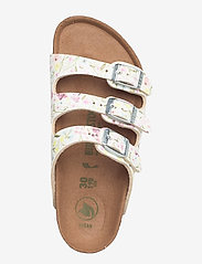 Birkenstock - Florida Vegan - schuhe - watercolor flower white - 3
