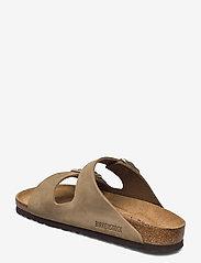 Birkenstock - Arizona Soft Footbed - flade sandaler - faded khaki - 2