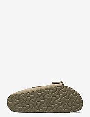 Birkenstock - Arizona Soft Footbed - flade sandaler - faded khaki - 4