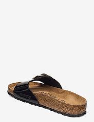 Birkenstock - Madrid Big Buckle - flade sandaler - patent black - 2