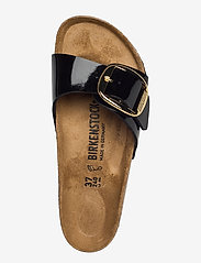 Birkenstock - Madrid Big Buckle - flade sandaler - patent black - 3