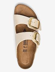 Birkenstock - Arizona Big Buckle - flade sandaler - graceful pearl white - 3