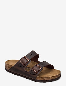 Arizona - płaskie sandały - habana