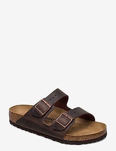 Arizona - flade sandaler - habana