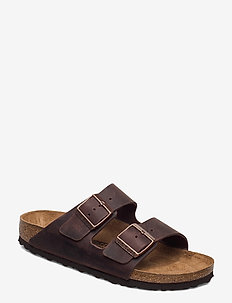 Arizona - platta sandaler - habana