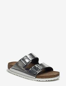 Arizona - flade sandaler - silver