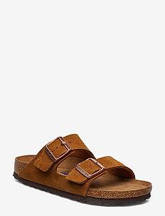 Arizona Soft Footbed - flade sandaler - mink