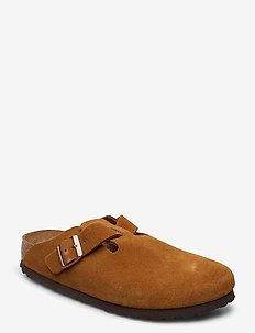Boston Soft Footbed - mules & slipins - mink