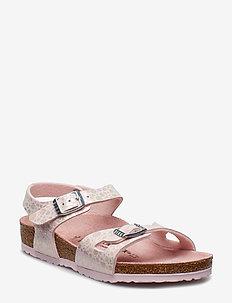 Rio - sandals - metallic stones rose