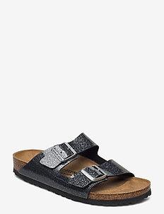 Arizona - flate sandaler - cosmic sparkle anthracite