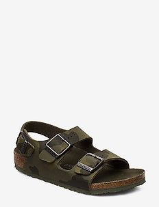Milano - sandals - camo green