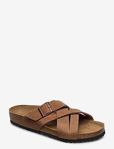 Lugano - sandaler - camberra old tabacco