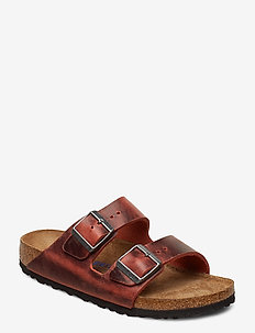 Arizona Soft Footbed - flade sandaler - earth red