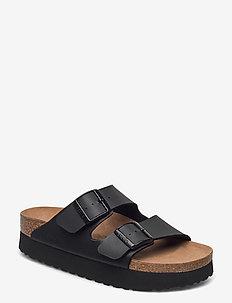 Arizona Platform Vegan - flade sandaler - black