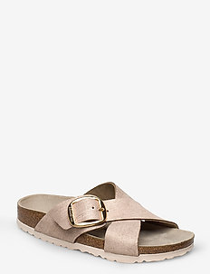 Sieana Big Buckle - WASHED METALLIC ROSE GOLD