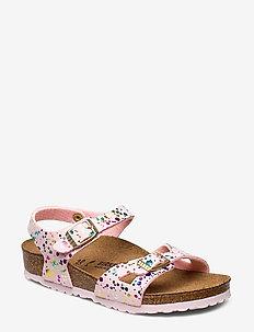 Rio - sandals - confetti rose