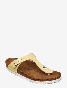 Gizeh - platta sandaler - sunkissed vanilla