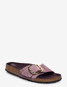 Madrid Big Buckle - flate sandaler - lavender blush