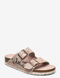 Arizona - flate sandaler - vintage metallic rose copper