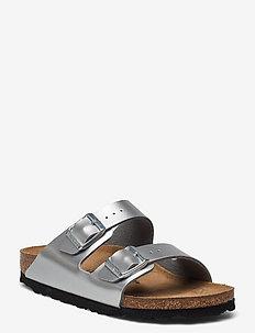Arizona - strap sandals - electric metallic silver