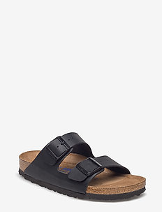 Arizona Soft Footbed - flate sandaler - black