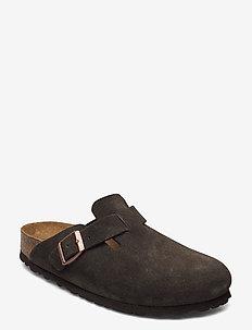 Boston Soft Footbed - matalat sandaalit - mocha