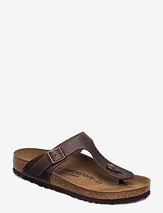 Gizeh - platta sandaler - habana