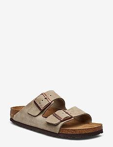Arizona Soft Footbed - flade sandaler - taupe