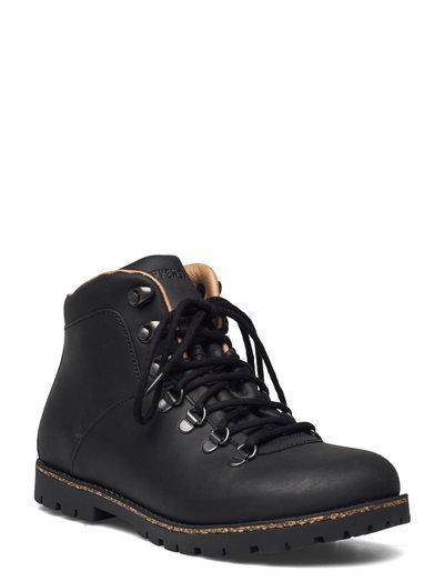 Jackson - flade ankelstøvler - black