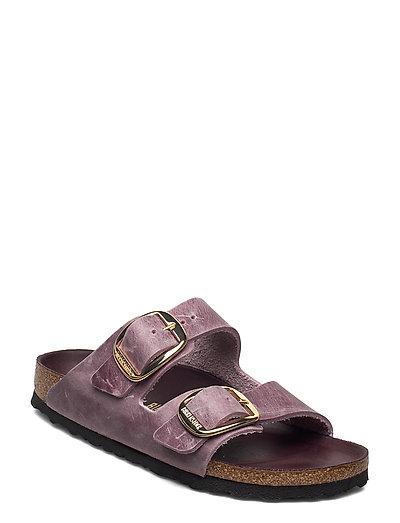 Arizona Big Buckle Shoes Summer Shoes Flat Sandals Lila BIRKENSTOCK | BIRKENSTOCK SALE