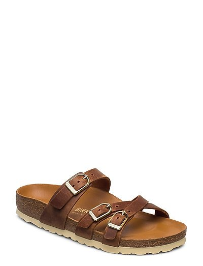 Franca D-Buckle Shoes Summer Shoes Flat Sandals Braun BIRKENSTOCK