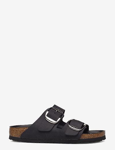 Arizona Big Buckle - flade sandaler - black