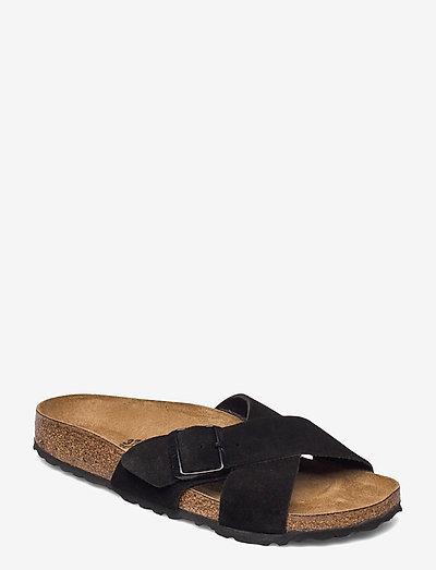 Siena - flade sandaler - black