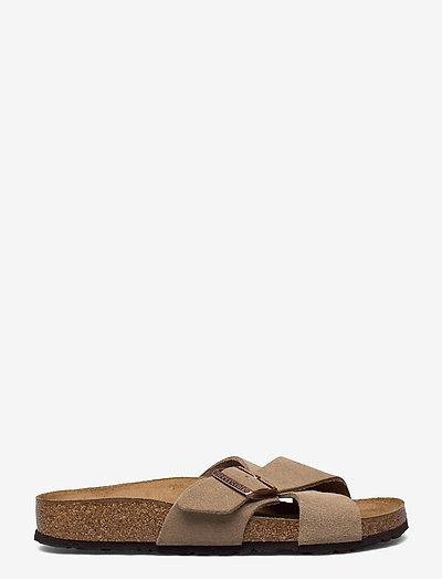 Siena - flade sandaler - taupe