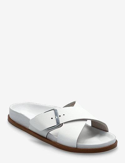 Siena Premium - flade sandaler - white