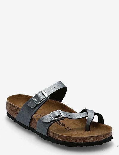 Mayari - flade sandaler - icy metallic anthracite