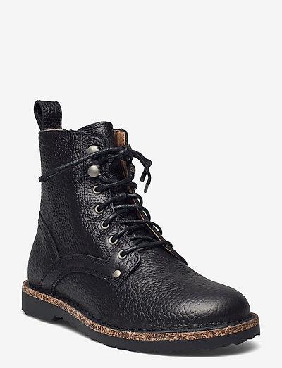 Bryson - flade ankelstøvler - black