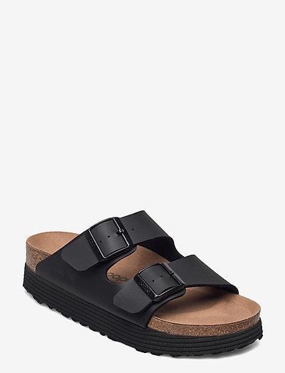Arizona Grooved Vegan - flade sandaler - black