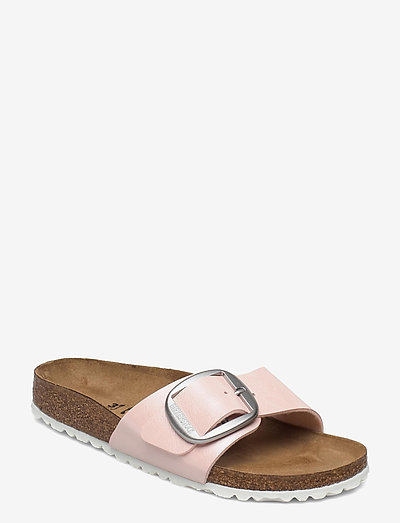 Madrid Big Buckle - flade sandaler - graceful light rose