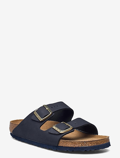 Arizona Soft Footbed - Nubuck Leather - flade sandaler - midnight
