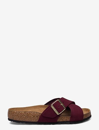 Siena Soft Footbed - flade sandaler - maroon