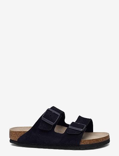 Arizona Soft Footbed - flade sandaler - midnight