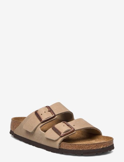 Arizona - flade sandaler - tob.brown