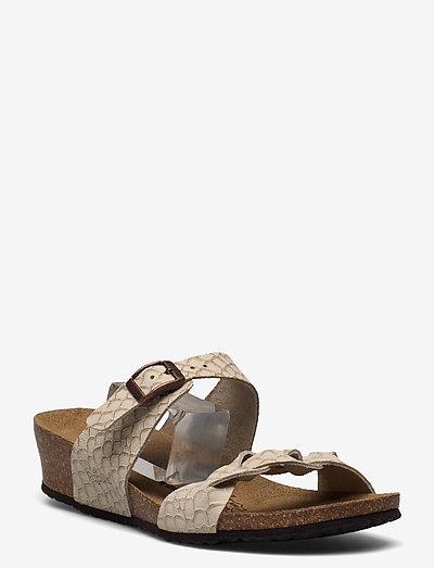 Alicia Papillio - flade sandaler - taupe