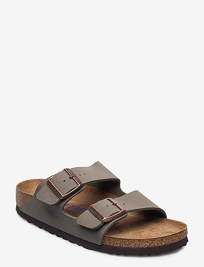 Arizona Soft Footbed - flade sandaler - stone