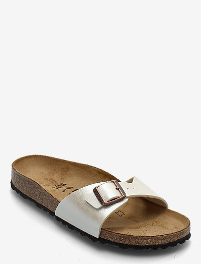 Madrid - flade sandaler - graceful pearl white