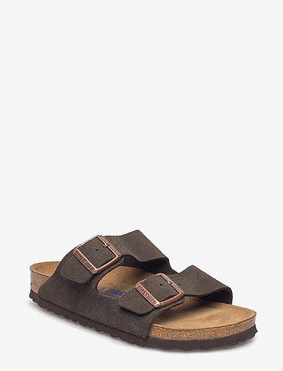 Arizona Soft Footbed - flade sandaler - mocca