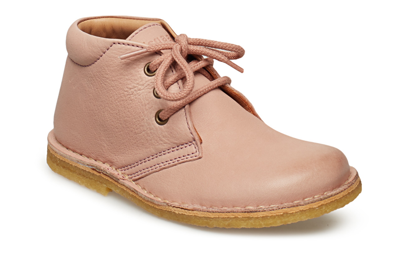 Bisgaard Shoe with laces - NUDE